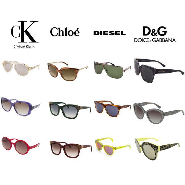 981c326ccd Multi-Brand Unisex Sunglasses - 12 Pc Lot