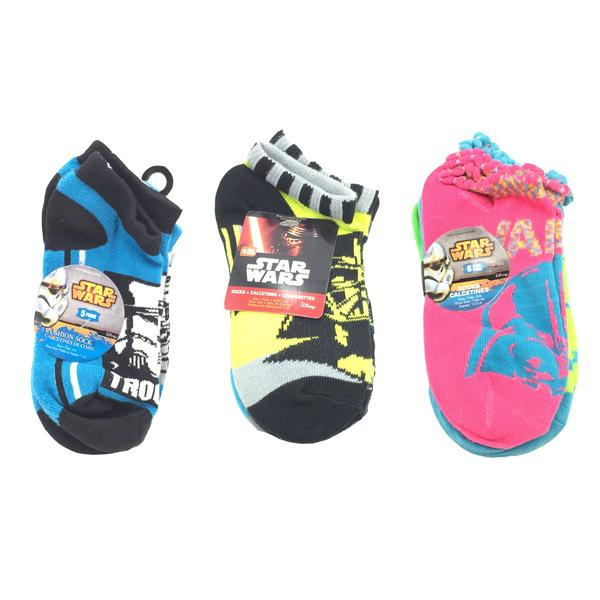 Assorted Star Wars Toddler Ankle Socks - Multiple Sizes - 11