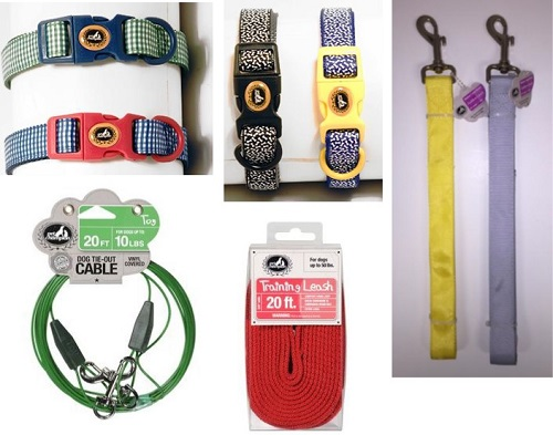 Dog Leashes and Collars Lot